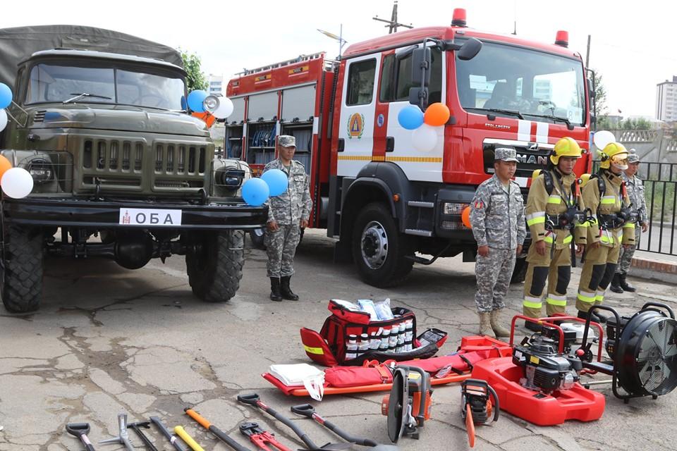 Дархан-Уул аймгийн ОБГ авто машин, тоног төхөөрөмжөө шинэчиллээ
