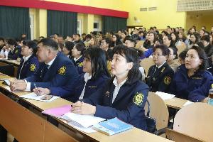 Дархан-уул аймгийн бизнес эрхлэгчдийн төлөөлөл сургалт, хэлэлцүүлэгт хамрагдаж байна