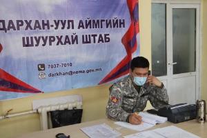 Дархан-Уул аймгаас Улаанбаатар хот болон бусад аймаг орон нутаг руу зорчихоор бүртгүүлсэн иргэдийг маргааш буюу энэ сарын 24-ний өдөр гаргахаар бэлтгэл ажлыг зохион байгуулан ажиллаж байна
