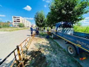 Дархан хотын 60 жилийн ойд зориулан ДСЦТС ХК-ийн хамт олон өөрсдийн хөрөнгөөр бүтээн байгуулалтын ажлыг хийж байна