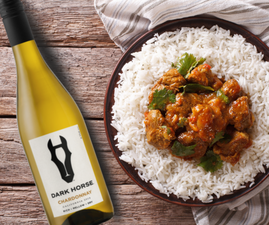 Lamb Curry with Chardonnay