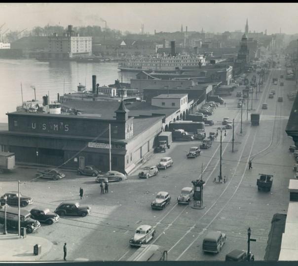 Harbor Scenes dated Feb. 1946. (Baltimore Sun file)