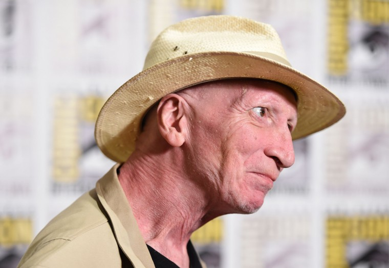 "Sin City creator Frank Miller attends the press line for ""Frank Miller's Sin City: A Dame To Kill For"" on the third day of the 45th annual Comic-Con, in San Diego, California July 26, 2014 at the San Diego Convention Center . (Robyn Beck/Getty Images)"