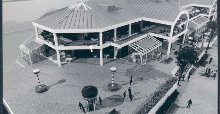 Harborplace pavilion. (George Cook/Baltimore Sun file)