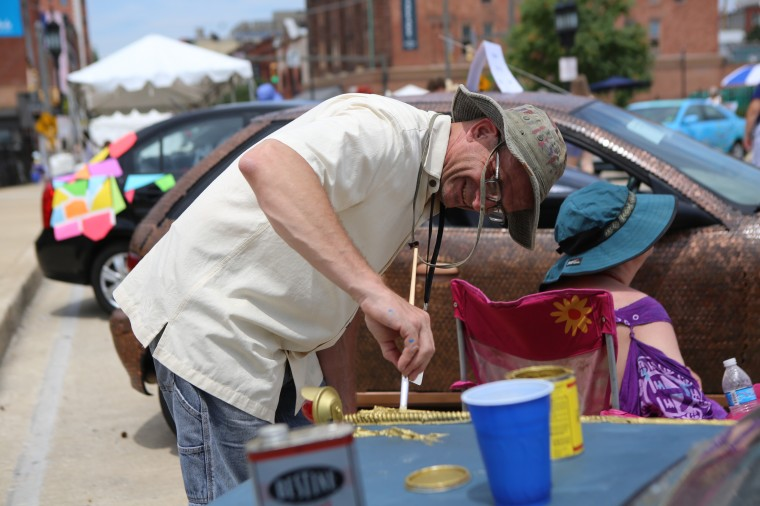 Scenes from Artscape in Baltimore. The free arts festival runs through Sunday, July 20. (Al Drago/Baltimore Sun)