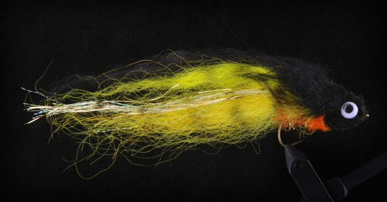 This is the wool head pike fly, used for pikes. (Kenneth K. Lam/Baltimore Sun)