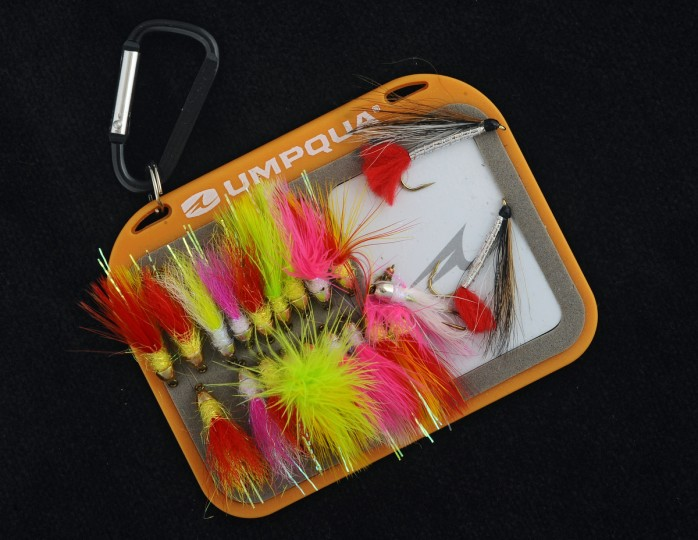 An assortment of shad flies tied by Eric Snyder of Bel Air. (Kenneth K. Lam/Baltimore Sun)