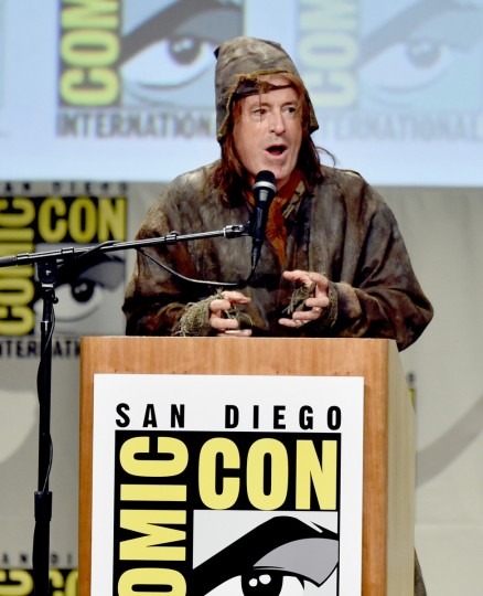 TV personality Stephen Colbert attends the Legendary Pictures preview and panel during Comic-Con International 2014 at San Diego Convention Center on July 26, 2014 in San Diego, California. (Kevin Winter/Getty Images)