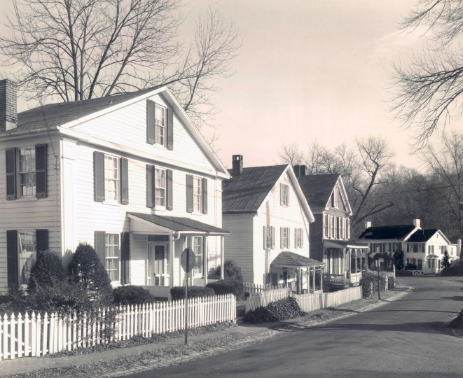 Dec. 12, 1955: Ahead of Christmas season, the Maryland House and Garden Pilgrimage hosts a tour of houses in the restored village of Dickeyville. (Sun file)