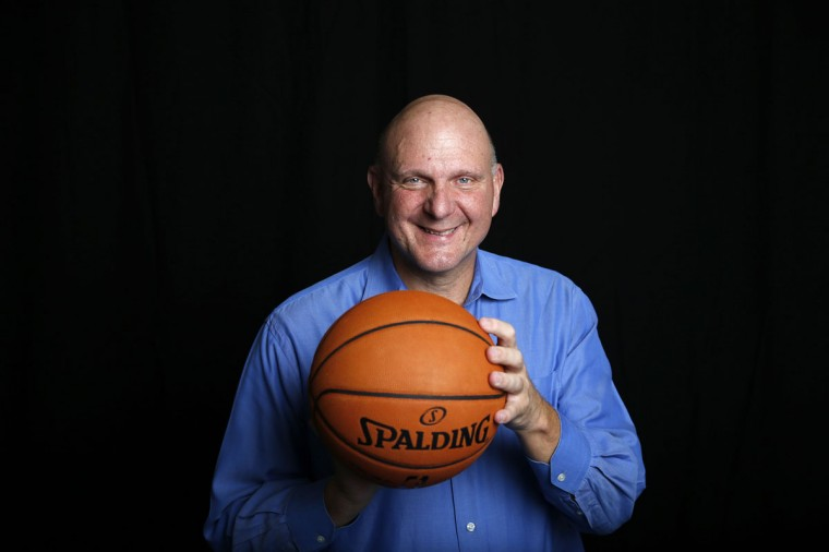 Los Angeles Clippers owner Steve Ballmer poses for a portrait in Culver City, Los Angeles, California September 24, 2014. After Ballmer plunked down $2 billion for the NBA's Clippers, fans might expect the former Microsoft chief executive to be hitting the reset button on a team that has been through a nasty public fight over racism. Don't bet on it. That experience, Ballmer knows, makes his team unique, and it will be part of the story he tells to earn one thing that was not guaranteed by the record price tag: a fan base that will sustain the team for years to come. (REUTERS/Lucy Nicholson)