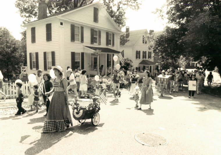 July 4, 1988: Dickeyville's 4th of July celebration. (Sun file)
