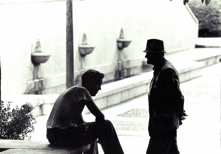 Seeking shade at War Memorial Plaza (Baltimore Sun file/July 18, 1964)