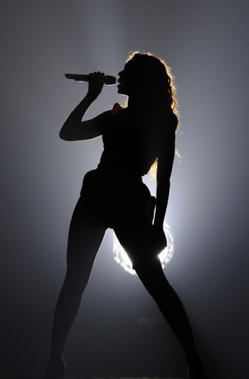 "Beyonce performs during the first 90 seconds of her ""I Am... Sasha Fierce Tour"" at the First Mariner Area in June 2009. (Kenneth K. Lam/Baltimore Sun)"