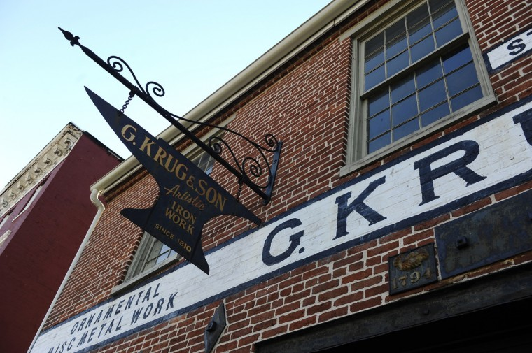 G. Krug & Son Ironworks is the oldest continually run blacksmith shop in the country. The museum has recently been granted nonprofit status. (Kim Hairston/Baltimore Sun)