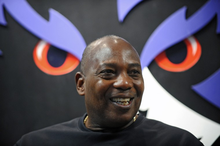 Ravens general manager and executive vice president Ozzie Newsome held a press conference at the Under Armour Performance Center in January 2013. (Kenneth K. Lam/Baltimore Sun)