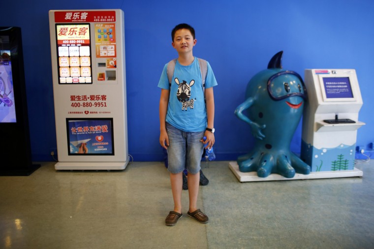 "Zhu Diwen, who was born in 1999, poses for a photograph in Shanghai August 22, 2014. Diwen said: ""I have a cousin and I don't want to have brothers and sisters."""