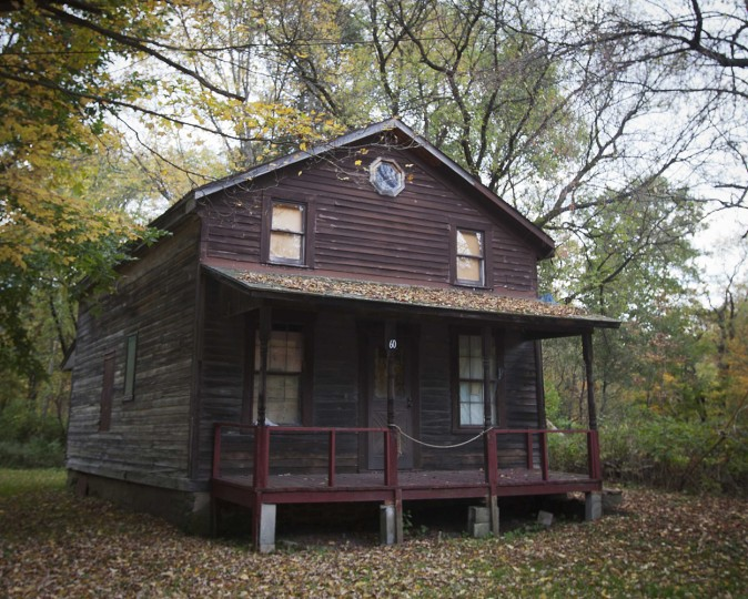 An abandoned house is pictured in the Catskills region of New York October 6, 2014. (Carlo Allegri/Reuters)