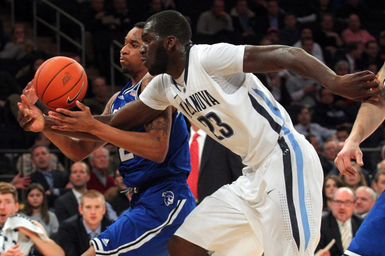 Name: Daniel Ochefu College: Villanova Position: Forward Year: Junior High school: Downingtown (Pa.) East Hometown: Baltimore 2013-14 stats: 5.7 points, 6.1 rebounds One of the top defensive players in the Big East, Ochefu started 32 of 34 games for a Villanova squad that made it to the third round of the NCAA tournament. The 6-foot-11, 245-pound forward led the Wildcats in blocked shots (1.5 per game) and was selected co-Most Improved Player in the Big East. A strong passer out of the post, Ochefu will have an expanded role for the preseason Big East favorites. (Brad Penner-USA TODAY Sports)