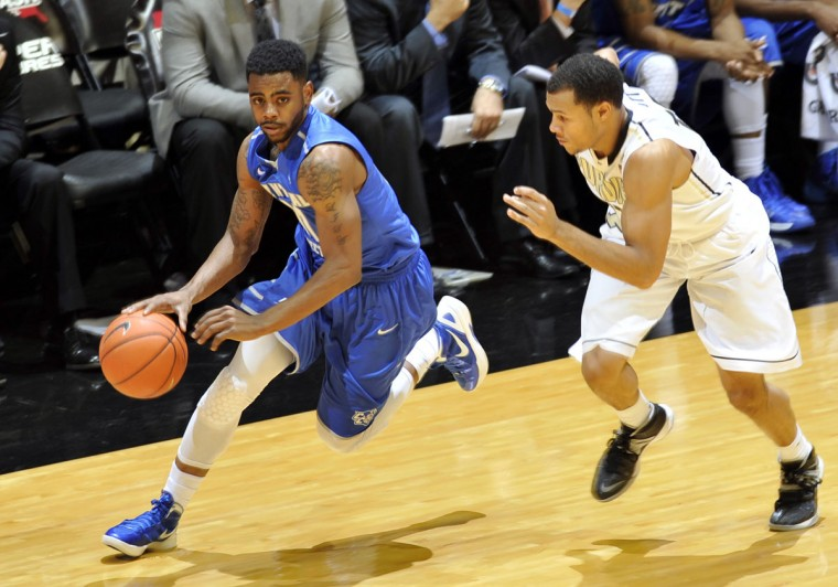 Name: Malcolm McMillan College: Central Connecticut State Position: Guard Year: Senior High school: John Carroll Hometown: Baltimore 2013-14 stats: 10.8 points, 3.5 rebounds, 3.2 assists In three seasons at Central Connecticut State, McMillan has started 85 out of 89 games. The 2011 co-Baltimore Catholic League Player of the Year led the Blue Devils in assists and was the third-leading scorer last season. McMillan is considered one of the top returning point guards in the Northeast Conference. (Sandra Dukes-USA TODAY Sports)