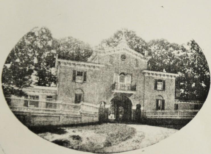 The Mount de Sales gatehouse.