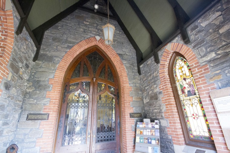 St. John's Church in the 3000 block of Greenmount. (Kalani Gordon/Baltimore Sun/Nov. 2014)