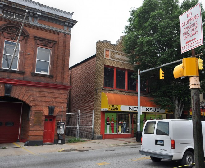 7/1/09: The 1902 Waverly Fire House (3123 Greenmount Ave.) had been closed due to holes in the roof and a pigeon infestation. (Gene Sweeney Jr./Sun file)