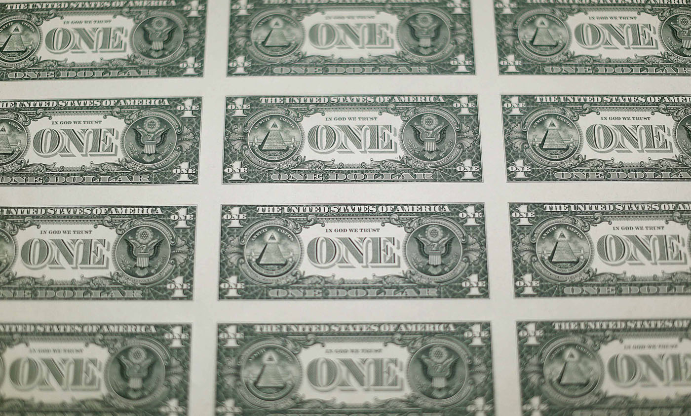 The money factory: How a U S  one dollar bill is printed
