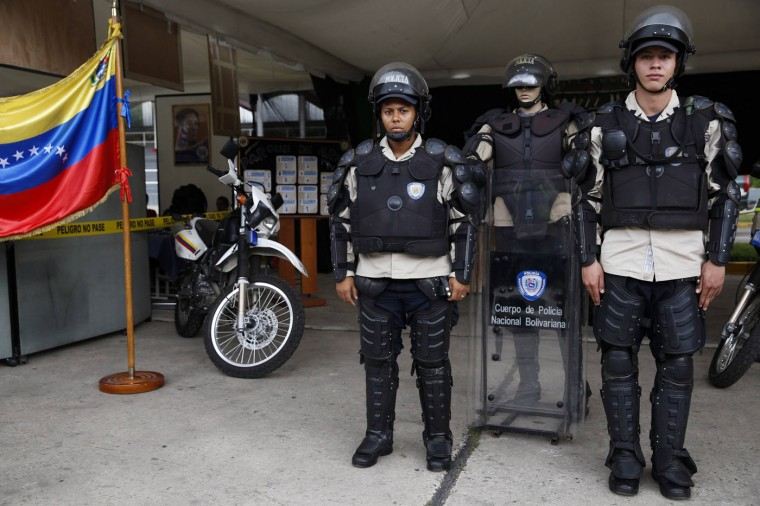 A member of Philippine National Police with a patrol segway motorcycle in front of a police station in Manila. In the Philippines, the use of extreme force against a suspect is allowed only if the police officer's life or that of the victim (of the suspect) is in imminent danger. Picture taken September 15. (Romeo Ranoco/Reuters)