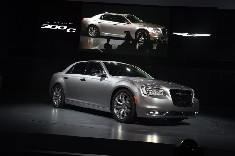 The 2015 Chrysler 300 C is unveiled at the Los Angeles Auto Show, November 19, 2014 in Los Angeles, California. (Robyn Beck/AFP/Getty Images)