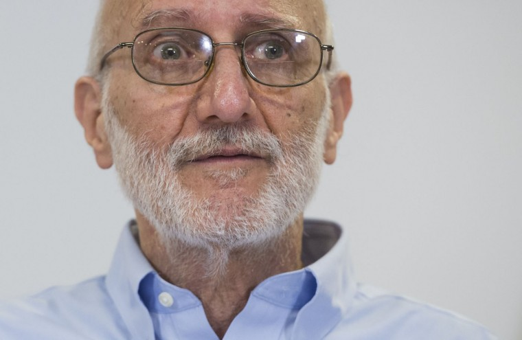 Alan Gross, speaks during a press conference after being released by Cuba on December 17, 2014 in Washington,DC. Gross, an American contractor jailed on the communist-ruled island since 2009, was released amid signs of an imminent thaw in ties between the Cold War foes. (Saul Loeb/AFP/Getty Images)