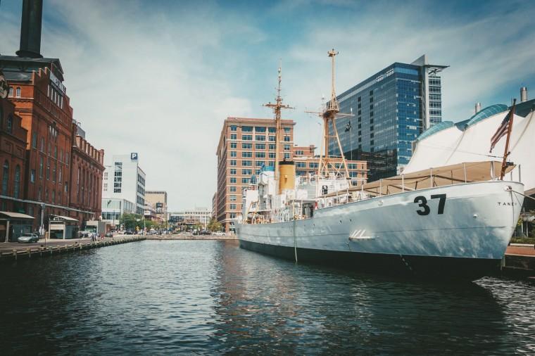 Inner Harbor Ship- Inner Harbor, Baltimore, MD