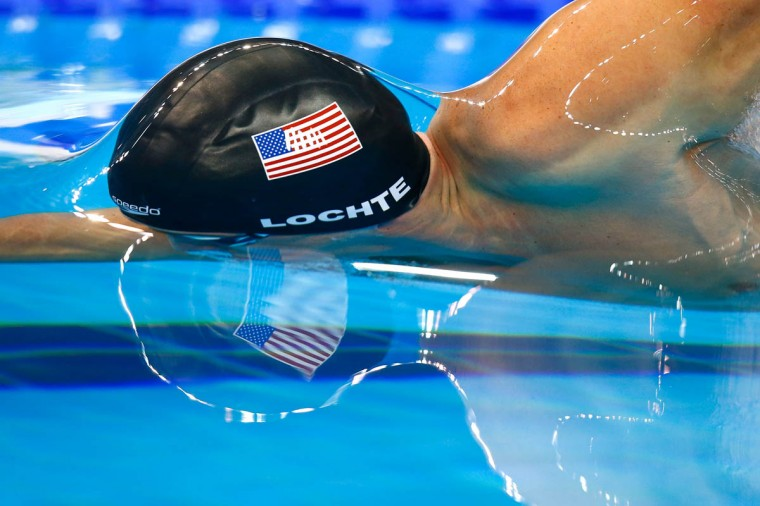Ryan Lochte of USA competes in the Men's 200m Freestyle Final on day one of the 12th FINA World Swimming Championships (25m) at the Hamad Aquatic Centre on December 3, 2014 in Doha, Qatar. (Clive Rose/Getty Images)