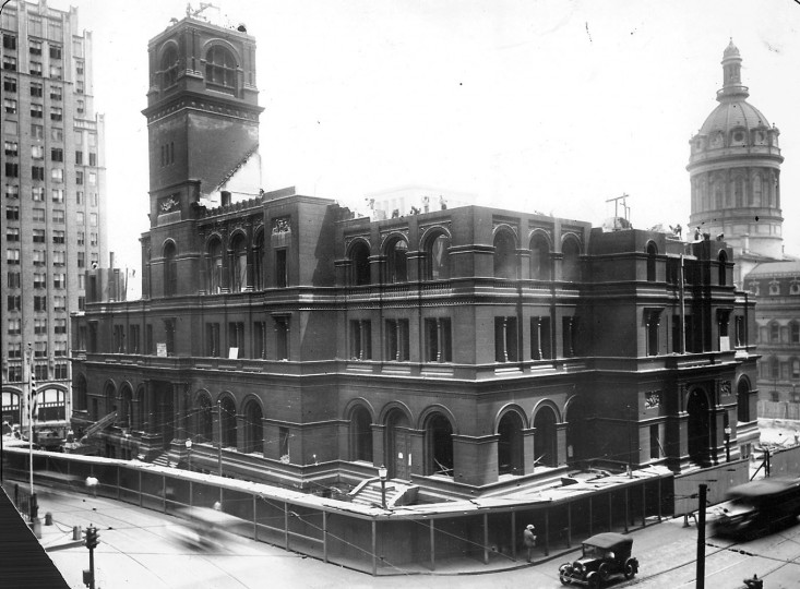 Sun file photo taken July 22, 1930.
