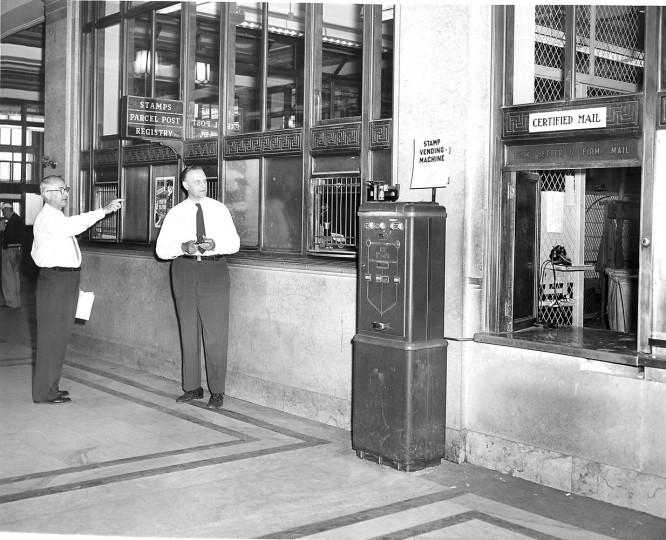 Sun file photo taken August 12, 1957.