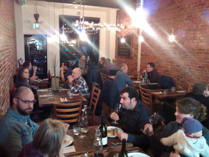 Aromes' first weeknight open in Hampden.