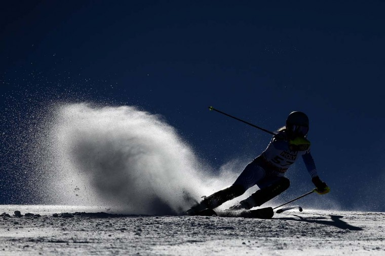 Nicol Gastaldi of Argentina races during the Ladies' Slalom on the Golden Eagle racecourse on Day 13 of the 2015 FIS Alpine World Ski Championships in Beaver Creek, Colorado. Ezra Shaw/Getty Images