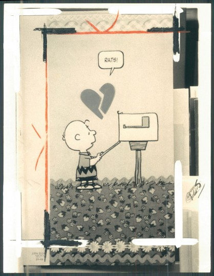 Peanuts' valentine (Irving Phillips/Baltimore Sun, 1978)
