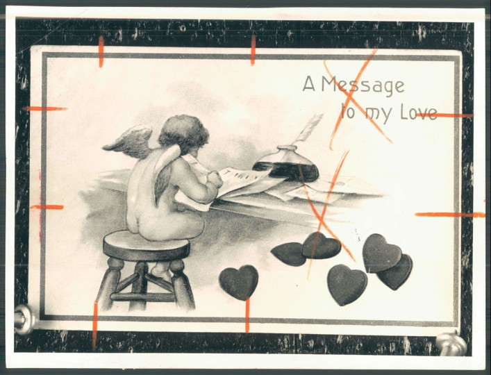 Antique valentine (Baltimore Sun, 1956)