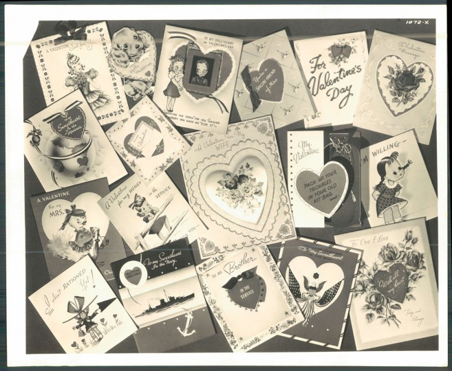 Antique valentines (Baltimore Sun, 1944)