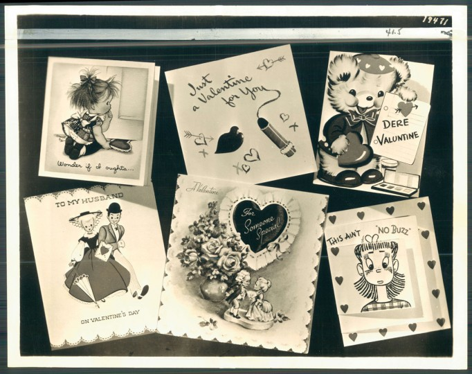 Antique valentines (Baltimore Sun, 1947)