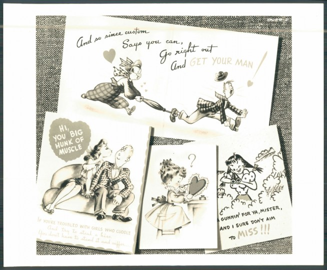 Antique valentines (Baltimore Sun, 1948)