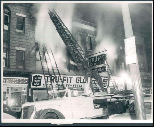 Baltimore Sun photo, Feb. 16, 1955