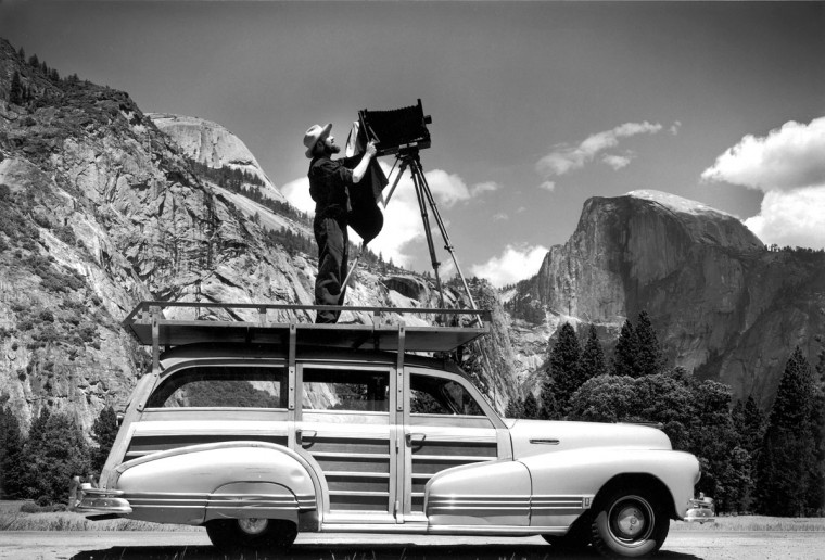 Ansel Adams (Courtesy Cedric Wright Family)