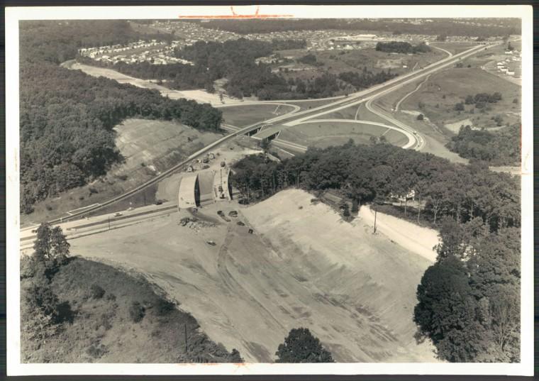 Beltway interchange with Loch Raven Blvd. (William L. Klender/Baltimore Sun, 1961)