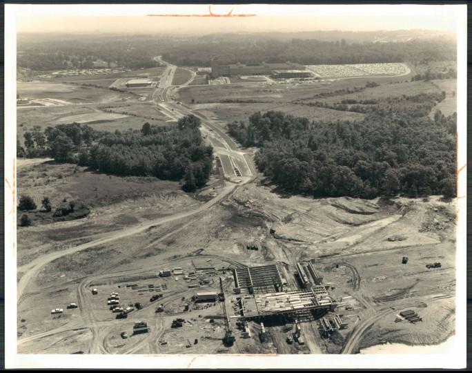 Beltway interchange with Security Blvd. (William L. Klender/Baltimore Sun, 1961)