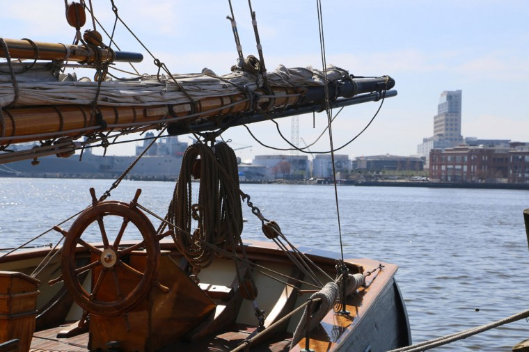 Ahoy, mateys (You knew we were going to say that...). Where else can you take a swashbuckling adventure on the high harbor while imbibing in glog and shooting water cannons at unsuspecting enemy kayakers below? Urban Pirates ships sail from the Ann Street Pier in Fells Point on family adventure cruises, bring your own grog cruises and private charters, seasonally. (Kaitlin Newman/The Baltimore Sun)