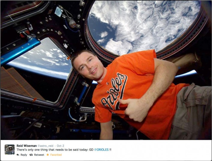 There's even a very elite group of Marylanders -- astronaut Reid Wiseman, for example – who opt to travel via space station as they orbit Earth. This is an expensive and time-consuming way to get around, mind you, and not for everyone. Those of us who are a bit more grounded but still dream of out-of-this-world exploits might stop by Johns Hopkins University's Space Telescope Science Institute in hopes of being transported to distant galaxies. (Twitter image)