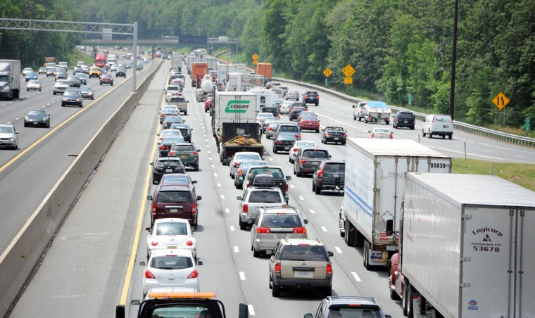 Ahh, cars. We have a lot of them, as anyone who travels around Baltimore during rush hour (or has tried to get to D.C. on a weekday) can attest. While there have been some indications recently that the number of annual miles driven in Maryland is leveling off and that Millennials are more inclined to take public transit than their parents, annual mileage has still risen by the billions in recent years. In 2014, for instance, annual miles traveled in Maryland stood at about 56.5 billion, up from about 46.9 billion in 1997.--Kevin Rector