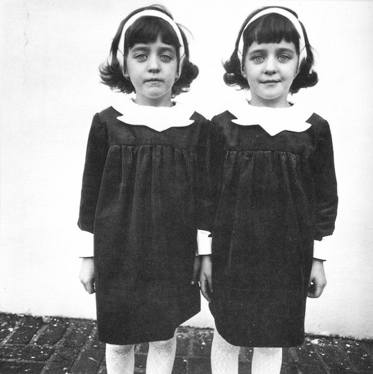 Identical Twins, Roselle, New Jersey, 1967 (Diane Arbus)