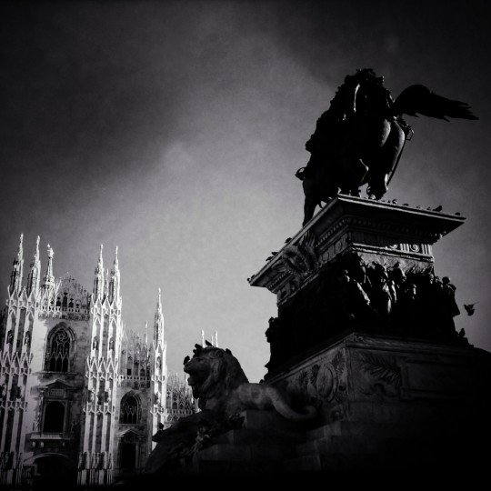A general view of Piazza Duomo on December 9, 2014 in Milan, Italy. Milan was named as the 2015 Universal Exposition hosting city. It will run from May 1 until October 31, 2015.(Photo by Vittorio Zunino Celotto/Getty Images)